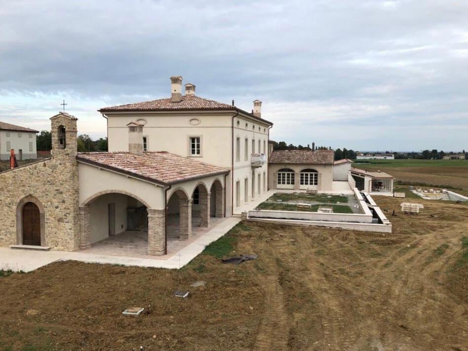 Restauro villa – Parma